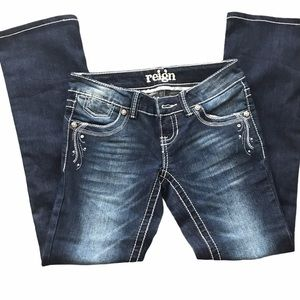NWOT Reign low rise bootcut jeans 1